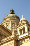 Budapest cathedral cupola Royalty Free Stock Photos