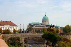 Budapest, château de Buda Photo stock