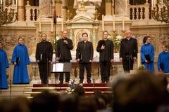budapest chórowa Paniusia De Notre Paris wykonuje Zdjęcia Royalty Free