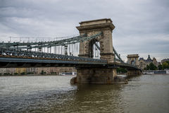 Budapest Chain Bridge. Royalty Free Stock Photo