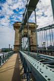 Budapest Chain Bridge. Stock Image