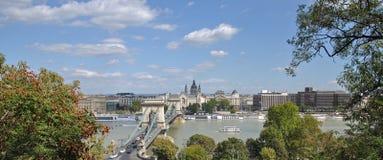 Budapest,Chain Bridge,Hungary Royalty Free Stock Photography