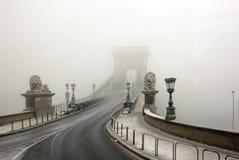 Budapest Chain bro Arkivbild