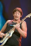 BUDAPEST: Chris Rea performs Stock Photography