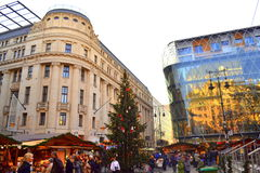 Budapest Christmas market Royalty Free Stock Photos