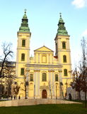 Budapest church Royalty Free Stock Image