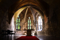 Budapest church interior Royalty Free Stock Images
