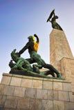 Budapest Citadella 2 Imagens de Stock