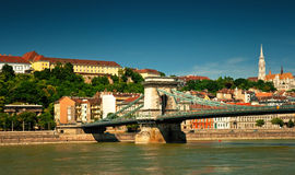 Budapest city Royalty Free Stock Photography