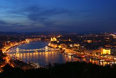 Budapest city Stock Photography