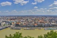Budapest city center architecture Stock Photos