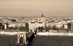 Budapest city centre Royalty Free Stock Image
