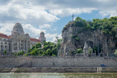 Budapest City Cliffside Stock Photography