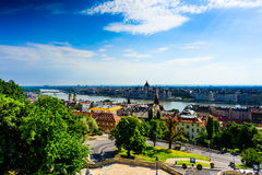 Budapest. The city of Budapest, Hungary Royalty Free Stock Image