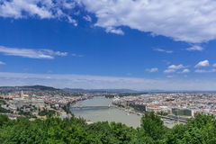 Budapest. City of Budapest, Hungary Royalty Free Stock Photos