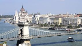 Budapest city stock video footage