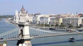 Budapest city stock video footage