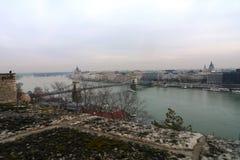 Budapest the city landscape Royalty Free Stock Image