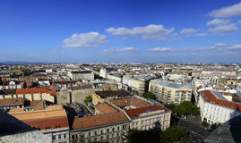 Budapest City Panorama Stock Photo