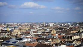Budapest City Panorama Stock Photos