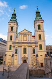 Budapest City Parish Church Royalty Free Stock Photo