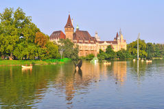 Budapest. City Park Varoshliget Stock Photos