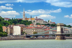 Budapest city skyline - Hungary Royalty Free Stock Photography