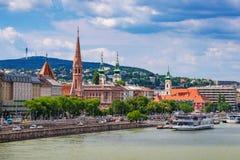Budapest city skyline - Hungary Royalty Free Stock Images