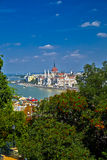 Budapest City View Royalty Free Stock Image