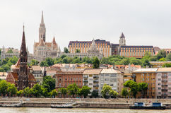 Budapest city view Royalty Free Stock Photo