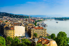 Budapest city view Royalty Free Stock Photography
