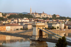 Budapest cityscape Royalty Free Stock Photos