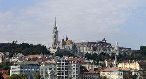 Budapest cityscape Royalty Free Stock Photography