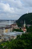 Budapest Cityscape. Budapest city view from the Buda Castle Royalty Free Stock Image