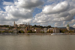 Budapest cityscape with Danube river. Budapest cityscape and Danube river in Hungary Stock Photography