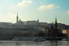 Budapest cityscape Royalty Free Stock Image