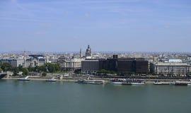Budapest Cityscape editorial Royalty Free Stock Photos