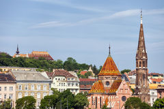 Budapest Cityscape Stock Photography