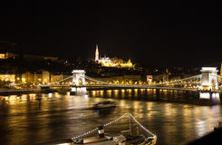 Budapest, cityscape by night Stock Photo