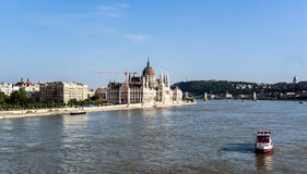 Budapest cityscape Stock Images