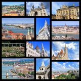 Budapest collage Stock Photo