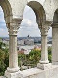 Budapest dal castello Fotografia Stock Libera da Diritti