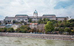 Budapest - Danube and the castle Royalty Free Stock Image