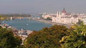 Budapest Danube i parlamentu rzeka zbiory