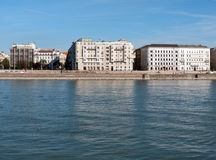 Budapest, Danube river Royalty Free Stock Photo