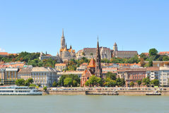 Budapest.  Danube River embankment Royalty Free Stock Photo