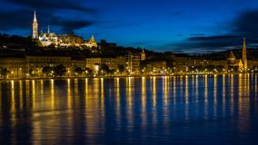 Budapest, Danube, River, Reflection Stock Images