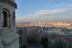 Budapest the Danube river views Royalty Free Stock Image