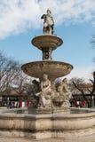 Budapest Danubius Wodna fontanna w Erzsebet kwadracie Obraz Stock