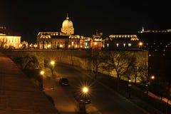 Budapest de Night Fotos de archivo libres de regalías
